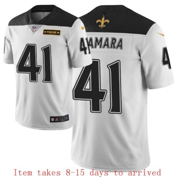 NFL Other - Saints #41 Alvin Kamara Jersey City Edition